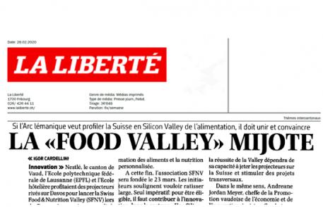La Libérte: la Food Valley mijote