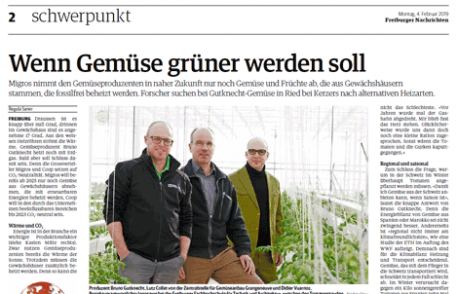 Freiburger nachrichten: wenn gemüse grüner werden soll