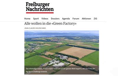 Freiburger Nachrichten: Alle wollen in die Green Factory
