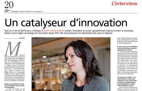 La Gruyère: Un catalyseur d'innovation