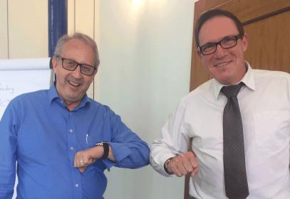 Paul Niederhauser et Stephan Buchser
