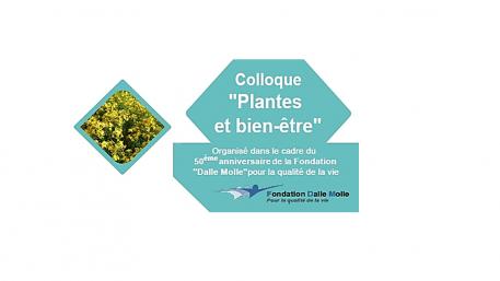 Colloque plantes et bien-être