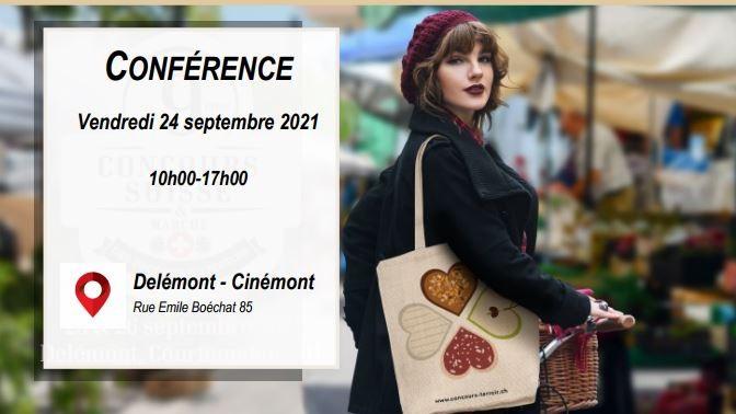 """Conférence """"Les enjeux et défis du e-commerce pour les produits du terroir"""""""