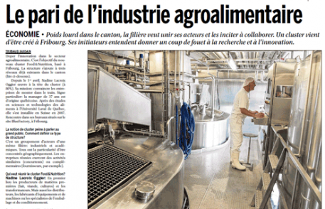 La Liberté: Le pari de l'industrie agroalimentaire