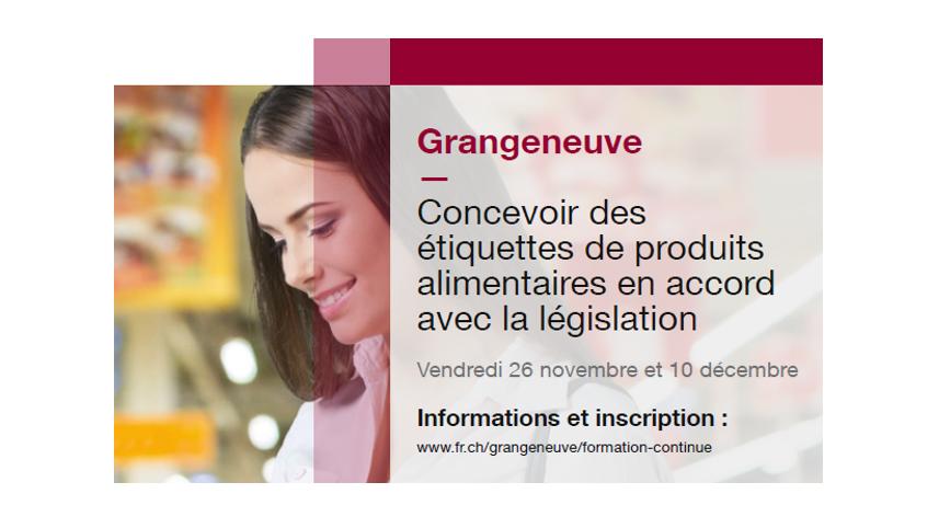 Concevoir des étiquettes de produits alimentaires en accord avec la législation