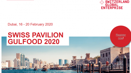 Swiss Pavillion Gulfood 2020