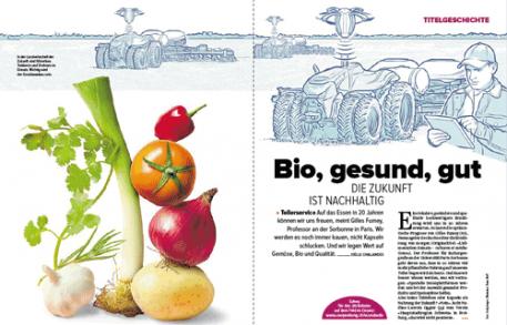 Coopzeitung: Bio, Gesund, Gut