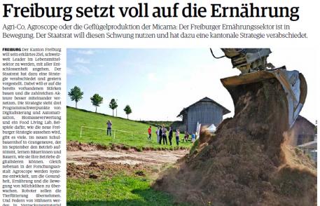 Freiburger nachrichten:Freiburg setzt voll auf die Ernährung