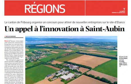 La Liberté: Un Appel à l'Innovation à Saint-Aubin