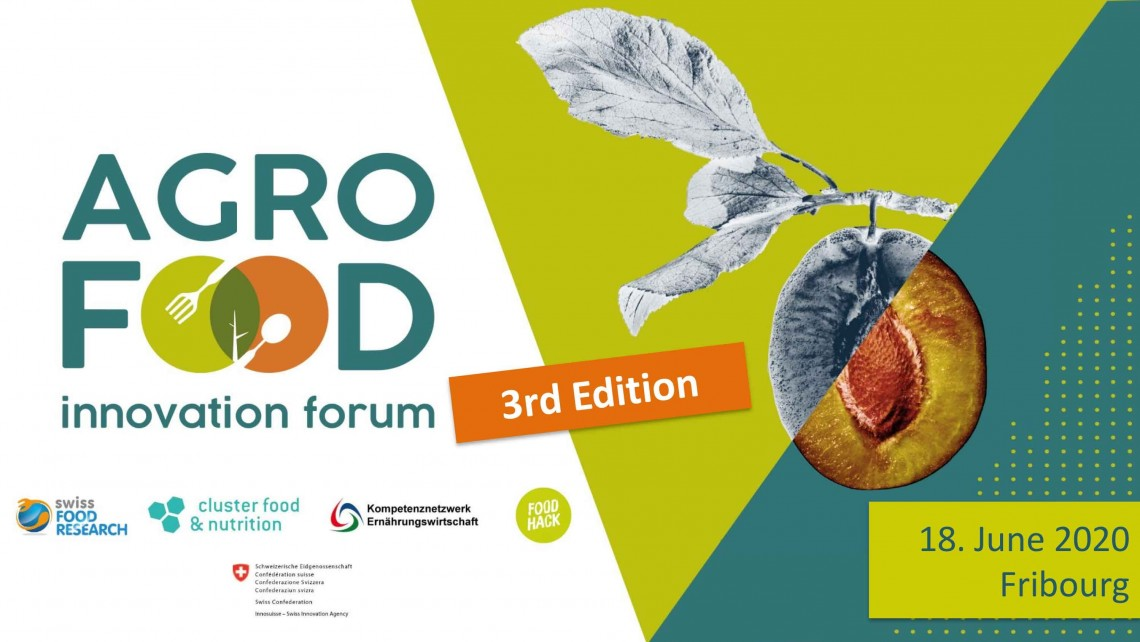 SAVE THE DATE: 3. Agro-Food Innovation Forum 2020